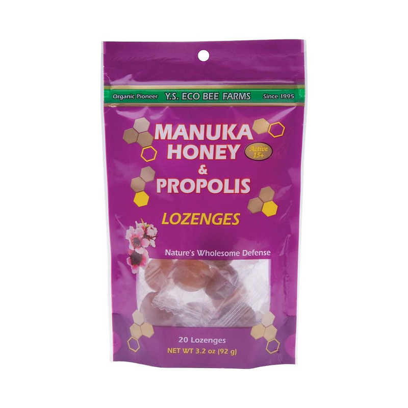 Manuka Honey Active 15+ & Propolis Lozenges