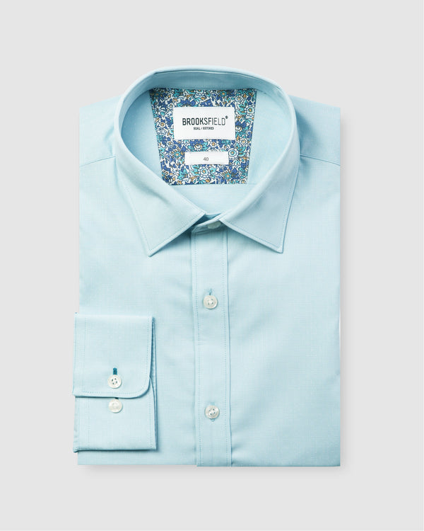 Career Floating Dot Dobby Business Shirt