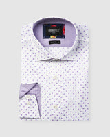 Luxe Scattered Flower Print Business Shirt