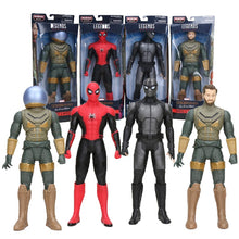 Load image into Gallery viewer, 12inch Legends Series Marvel Toys Spider-Man Far From Home MYSTERIO Black SPIDERMAN PVC Action Figure Collection Model Dolls