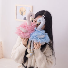 Load image into Gallery viewer, Amazing Swan Plush Toys Cute Flamingo Doll Stuffed Soft Animal Doll Ballet Swan With Crown Baby Kids Appease Toy Gift For Girl