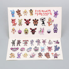 Load image into Gallery viewer, 10pcs/lot Five Nights at Freddy's Decal Stickers For Car Laptop Cupcake Freddy Fazbear Springtrap Waterproof FNAF Stickers