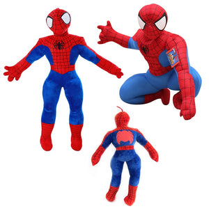1pc 30cm-20cm Spider man Stuffed Plush Toys The Avengers Spiderman Plush Dolls Gift For Children