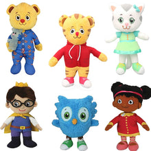 Load image into Gallery viewer, 20cm daniel tiger's neighborhood friends plush toys Katerina Kittycat Miss Elaina Prince cat tiger stuffed plush animals Dolls