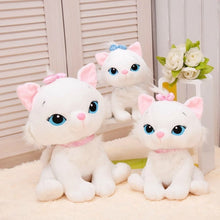 Load image into Gallery viewer, High Quality Colorful Cat Soft Stuffed Animals toys for children 18cm The Aristocats cat plush toys Marie cat plush dolls
