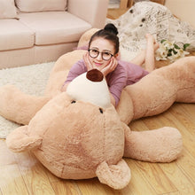 Load image into Gallery viewer, New Arrival 1M American Giant Bear Plush Toy Big Size USA Teddy Bear Stuffed Animal Doll Valentine Gift for Girls