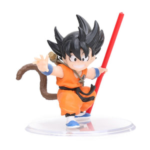 8-12cm Dramatic Showcase Gohan Goku PVC Action Figure Dragon Ball Z Kai Model Dolls Collection Figuren Toys Brinqudoes