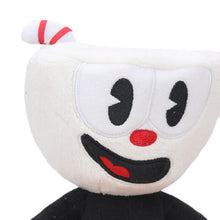 Load image into Gallery viewer, 22cm 2pcs/set Cuphead Plush Toys Set Boss the Devil Cuphead-Mugman Cuphead S1-King Dice Collectible DollsSoft Stuffed Animal Toy