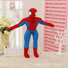 Load image into Gallery viewer, 1pc 30cm-20cm Spider man Stuffed Plush Toys The Avengers Spiderman Plush Dolls Gift For Children