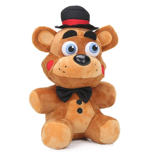 10.6inch Nightmare Freddy Fazbear Plush Toys Five Nights at Freddy's Soft Stuffed Animal Dolls FNAF juguetes de peluche bebe