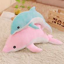 Load image into Gallery viewer, Low price 30cm Kawaii Dolphin Plush Toys Doll Stuffed Down Cotton Anima Nap Pillow Creative Kids Toy Christmas Gift for Girls