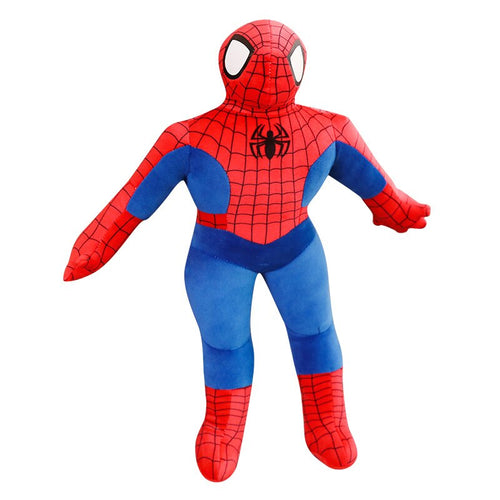 100cm Doll for Kids  Huge Soft AnIme Super Hero Stuffed Captain America Spiderman Plush Toys The AvengersBirthday Christmas Gift