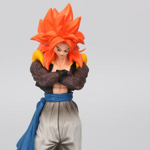 18-20cm Super Saiyan 4 Son Goku Vegeta Gogeta PVC Action Figures Dragon Ball Z GT Toys Collection Model Dolls Drago Brinqudoes