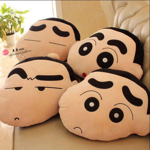 1pc 45cm Funny Expression Crayon Shin Chan Cute Plush Hold Doll Pillow Cushion Novelty Children Stuffed Toy Best Gift for kids