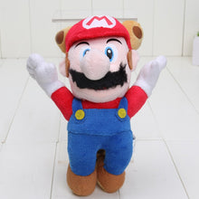 Load image into Gallery viewer, New Super Mario Bros Super Mario Plush Toy 6-25cm Luigi Dry Bones Toad Yoshi Princess Peach Daisy Plush Doll Toys Birthday Party