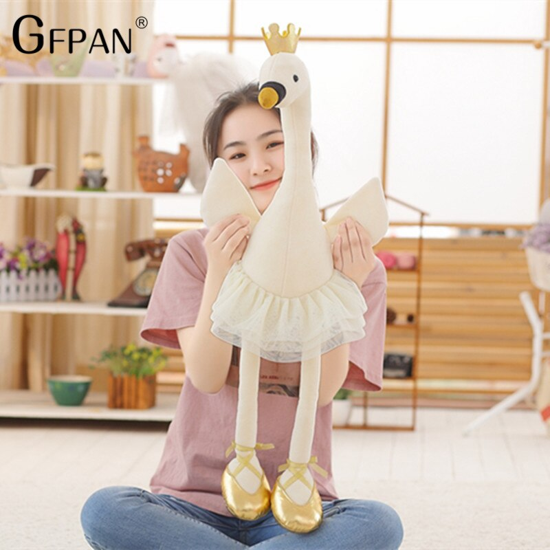 50cm Soft plush Swan Super Lovely Animal Stuffed&Plush Baby Cotton Toys Party Popular Doll For Children Creative Girls Kids