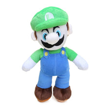 Load image into Gallery viewer, Game 25cm Super Mario Bros Luigi Yoshi Soft Plush Toys Cosplay Figure Runing Yoshi  Animal Dolls Toys Peluches bebe