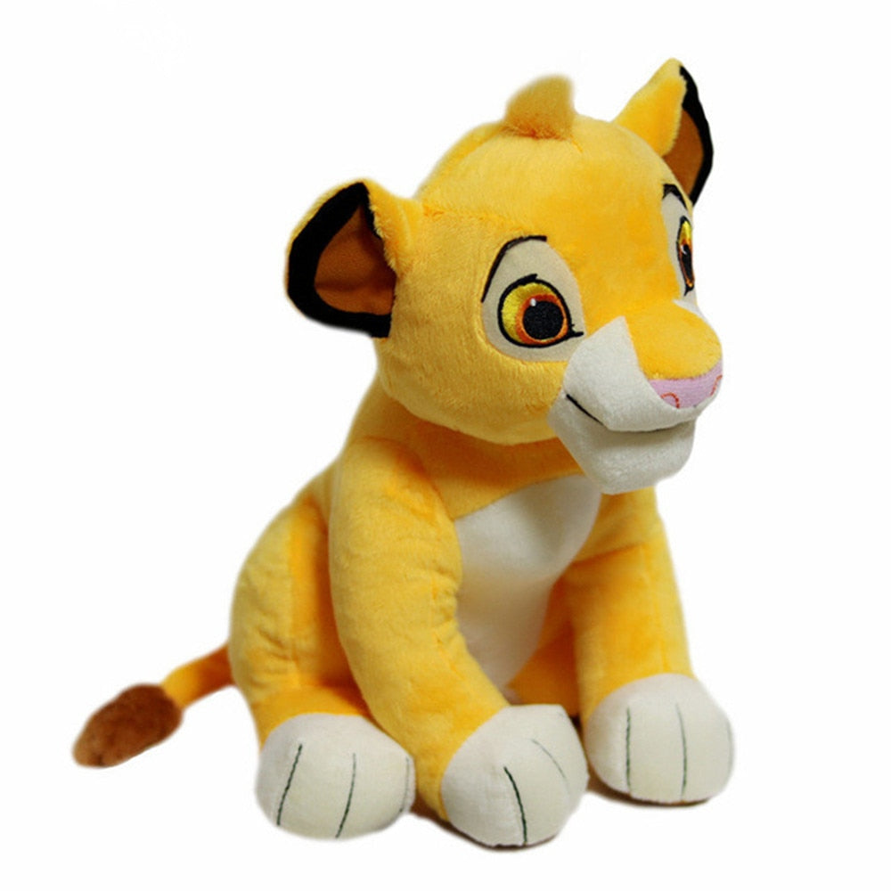 1pc  30cm High Quality Cute Movie Simba The Lion King Plush Toys Simba Soft Stuffed Animals Doll For Children Gifts