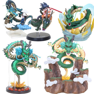 15-17cm KAMINORYU Super Ultimate God Shenron PVC Action Figure Red Green Gold Dragon Dragon Ball Z Collectible Model Dolls Toys
