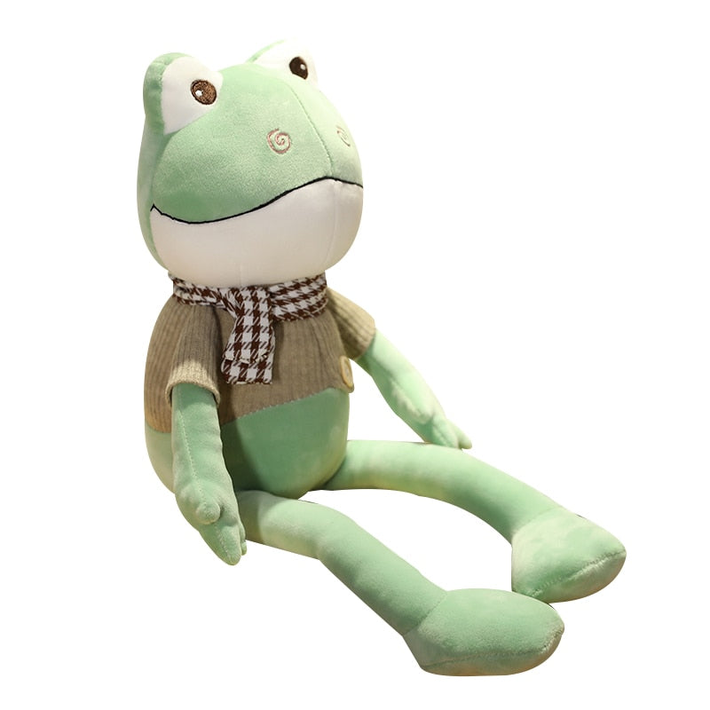 1pc Super Kawaii 38cm Kawaii Frog Big Mouth Plush Toys Stuffed Animals Soft Toys for baby Gift stuffed doll for collection