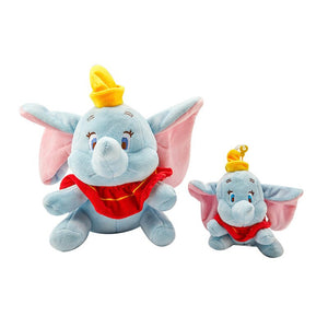 12CM Cute elephant Plush Toy Stuffed  Pendant Rose Granules Kids Doll Fashion Key Chains Kawaii Gift for Girls