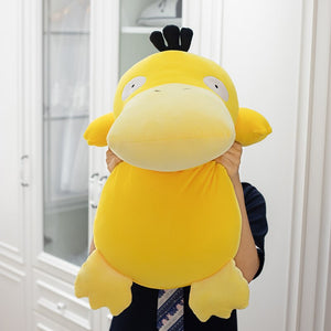1pc 80cm Big Size Plush Toys Cute Cartoon Yellow Duck Stuffed Doll Soft Pillow For Children Kids Birthday Present