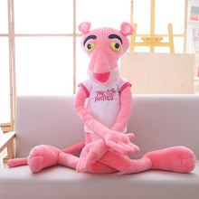 Load image into Gallery viewer, 1pc 55cm kawaii Pink Panther with T-shirt Plush Toys Cute Children Dolls Stuffed Soft Hot Anime Toys Birthday Gift for Baby