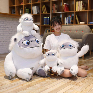 Hot Sale High Quality 1pc 90-10cm Movie Abominable Snow monster Yeti plush cute Anime doll toys for Children Christmas gift
