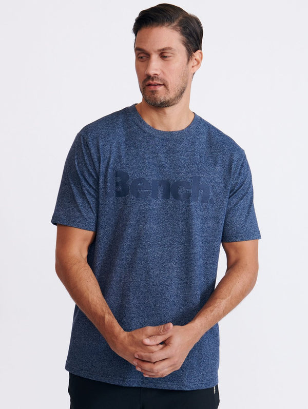 Marled Logo S/S T-Shirt - Bench Canada