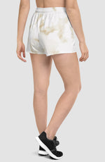 Pastel Marble Yellow Tempo Shorts