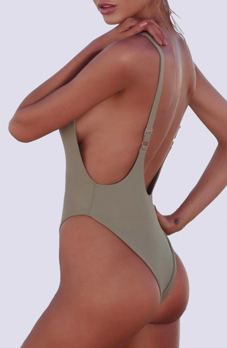 Ashley Sea Foam One Piece Swimsuit