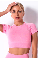 Court Crop Top by Booty Clothing