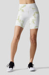 Pastel Marble Yellow Indio Bike Short