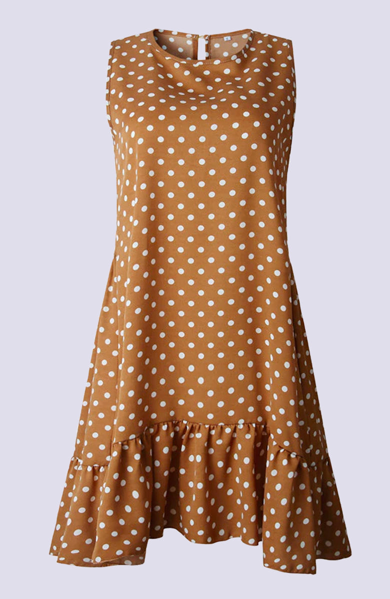 Polka Dot Shift Dress by WMNSWR