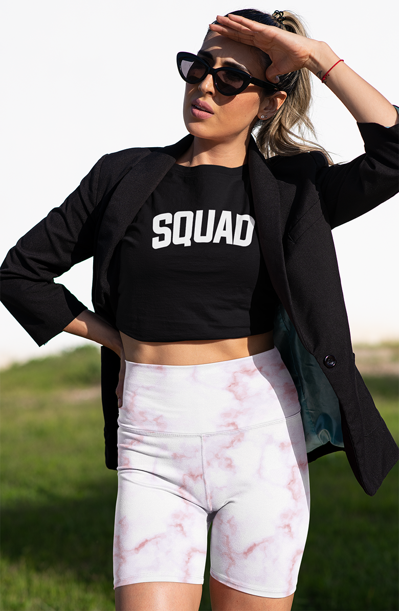 Squad Cropped Sweatshirt