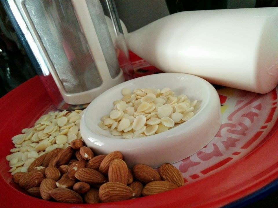 Chinese Almond Milk lactose free recipe