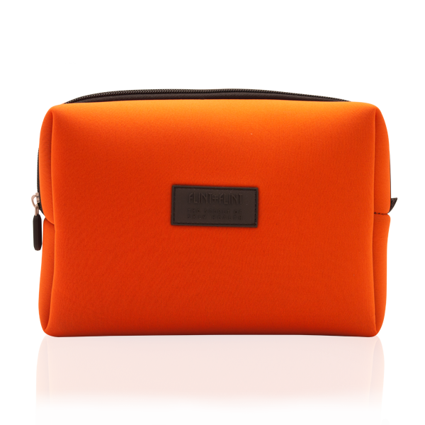ORANGE WASH BAG