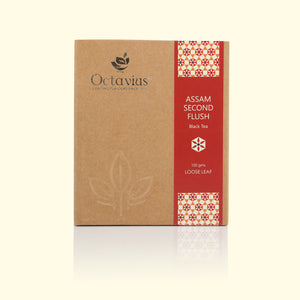 Load image into Gallery viewer, Octavius Assam Second Flush Black Tea- 100 GMS (50 Cups)