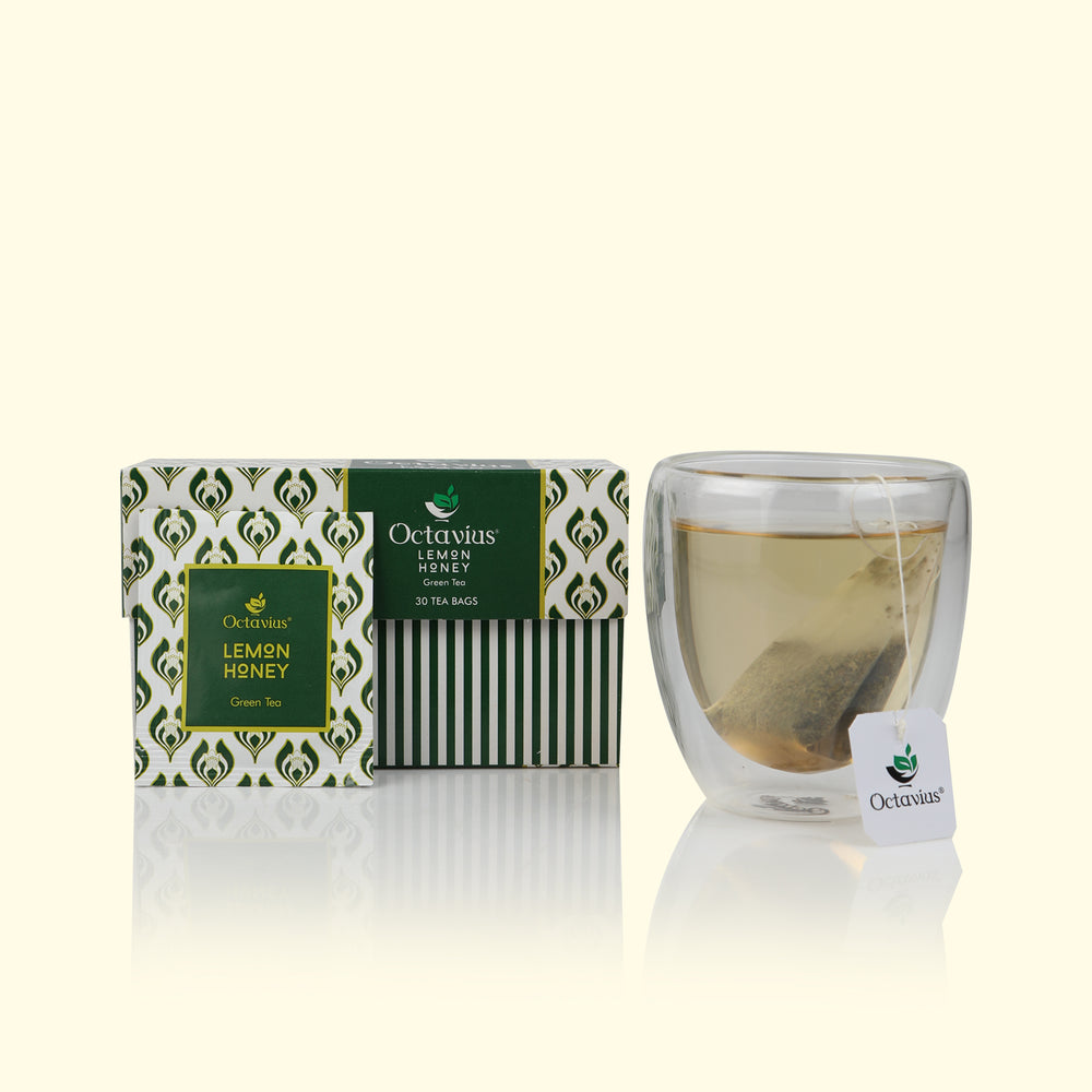Load image into Gallery viewer, Honey Lemon Green Tea Bags