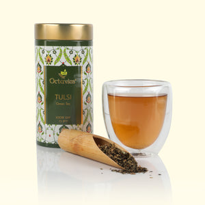 Load image into Gallery viewer, Tulsi Green Tea Loose Leaf
