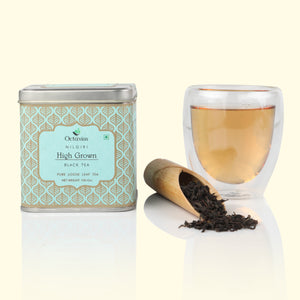 Load image into Gallery viewer, Octavius Nilgiri High Grown Loose Leaf South India Black Tea-in Premium Tin Box - 100 Grams