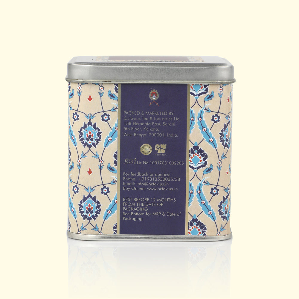 Load image into Gallery viewer, Exclusive Pure Green Tea Loose Leaf (Sq. Tin)