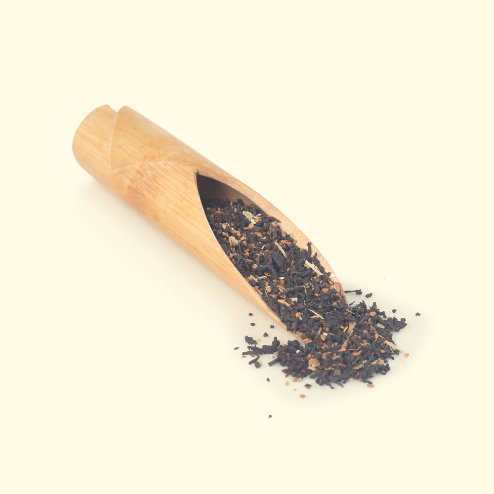 Load image into Gallery viewer, Premium Cinnamon & Cardamom Black Tea Loose Leaf