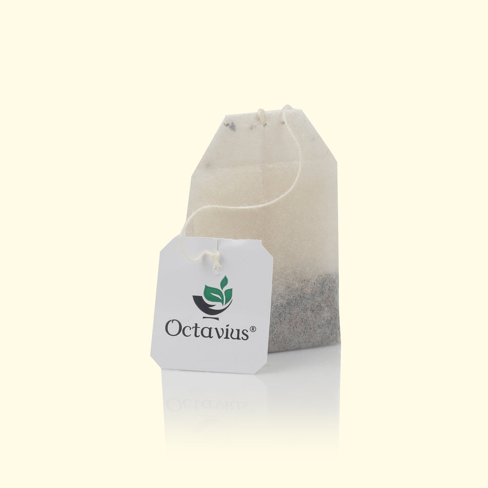 Load image into Gallery viewer, OCTAVIUS ASSORTED BLACK TEAS, VARIETY PACK OF 25 TEA BAGS IN CLASSIC SQUARE TIN