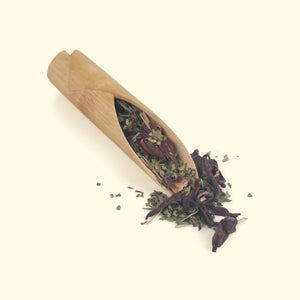 Load image into Gallery viewer, Hibiscus-Clove & Lemon Grass Green Tea