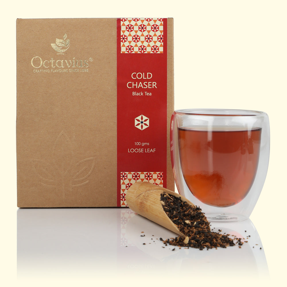 Octavius Cold Chaser Black Tea Loose Leaf - 100 gms
