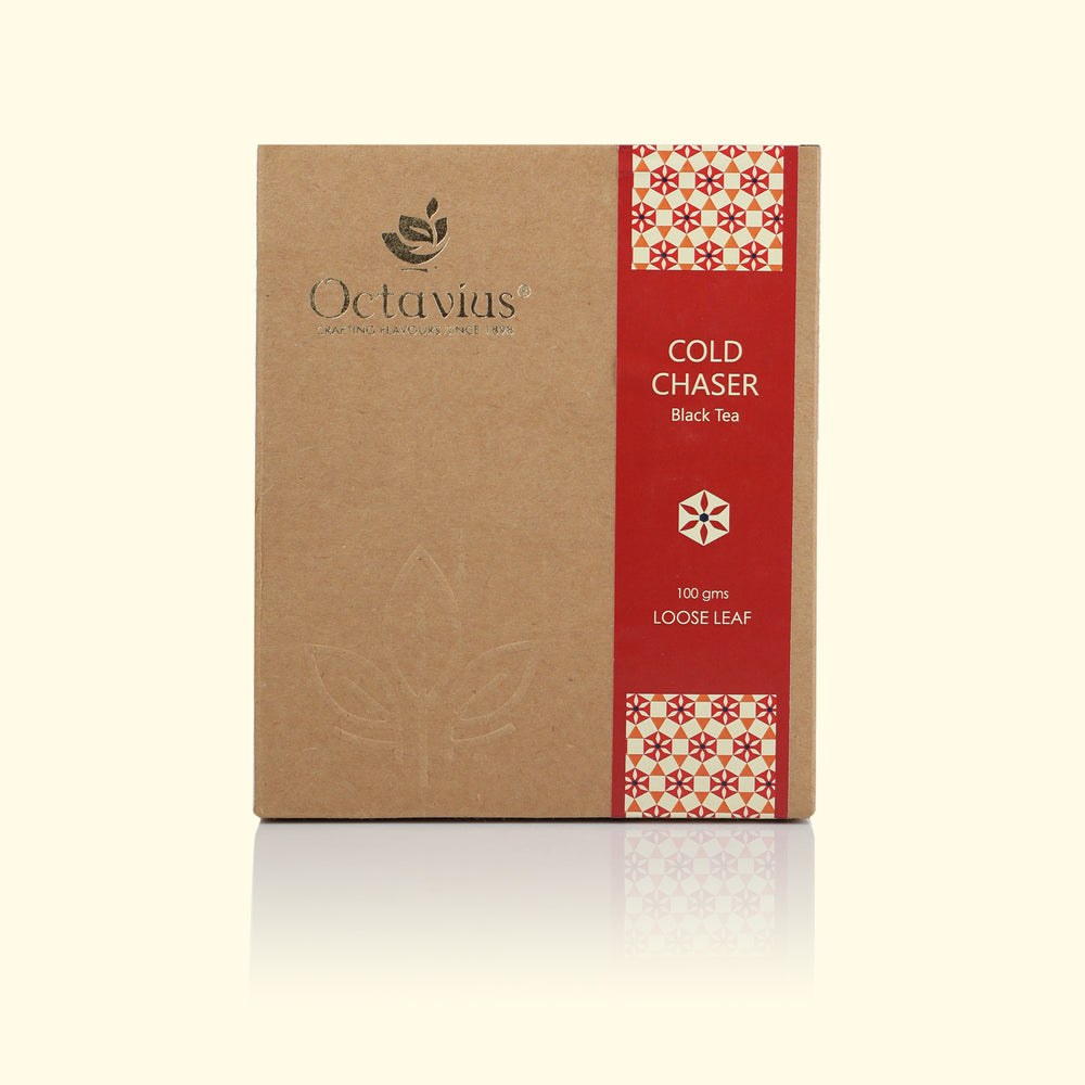 Load image into Gallery viewer, Octavius Cold Chaser Black Tea Loose Leaf - 100 gms