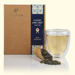 Load image into Gallery viewer, Classic Earl Grey Green Loose Leaf Tea