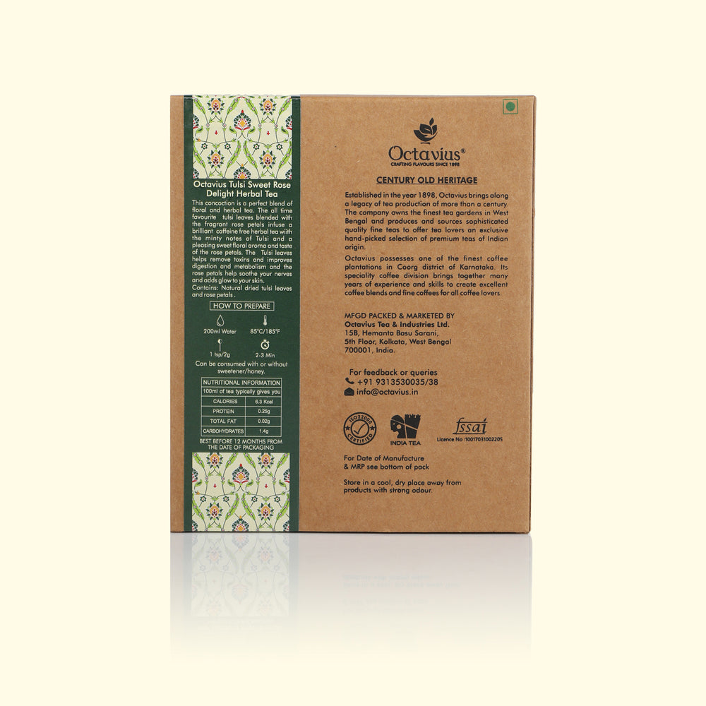 Load image into Gallery viewer, Tulsi Sweet Rose Delight Herbal Loose Leaf Tea