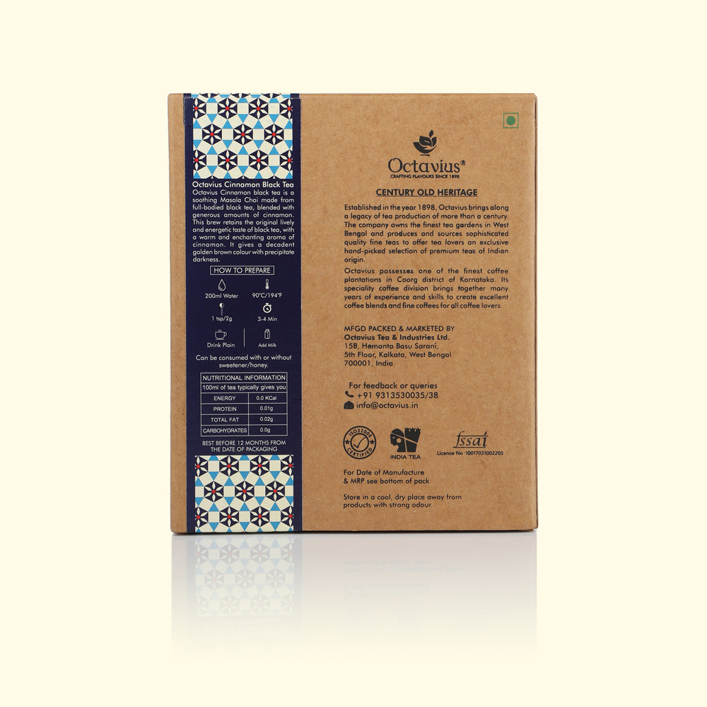Load image into Gallery viewer, Cinnamon Black Tea Loose Leaf